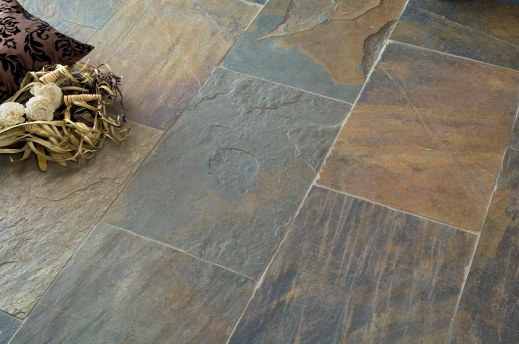 Natural Slate Tile : Chinese rust riven slate tiles walls floors